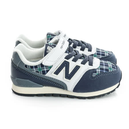 New Balance(童)996經典復古鞋-藍-KV996NPY