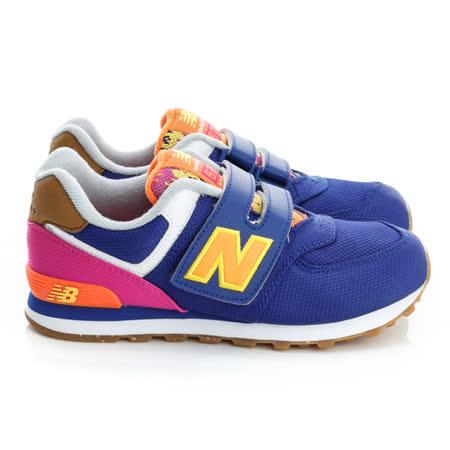 New Balance(童)574經典復古鞋-藍-KV574T5Y
