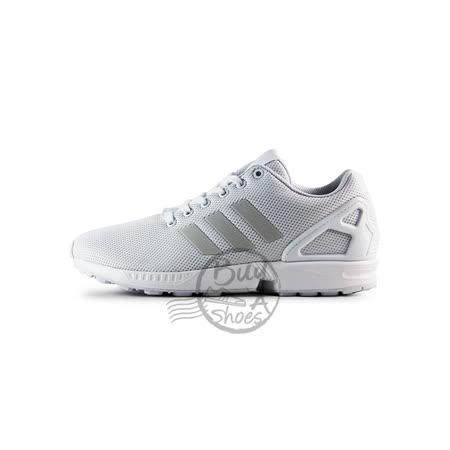 (男女)ADIDAS ZX FLUX 慢跑鞋 白-S79093
