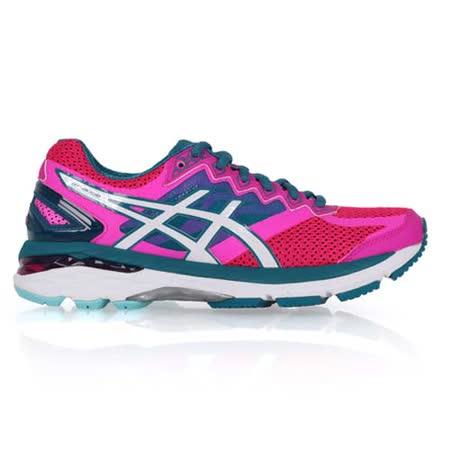 (女) ASICS GT-2000 4 慢跑鞋- 路跑 亞瑟士 亞瑟膠 桃紅湖水綠