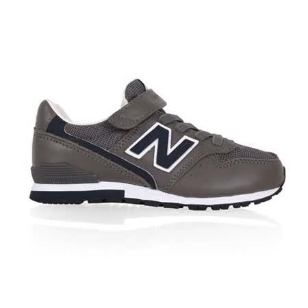 (童) NEWBALANCE 996 男女中休閒鞋-寬楦 NB N字鞋 鐵灰藍
