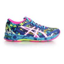 (女) ASICS GEL-NOOSA TRI 11 路跑鞋- 慢跑 亞瑟膠 藍螢光粉