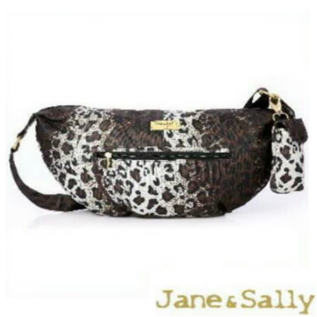 【Jane&Sally】Sports系列側背包/斜背包-豹紋