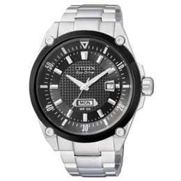 CITIZEN 雅致品味光動能錶(黑) BM5005-69E