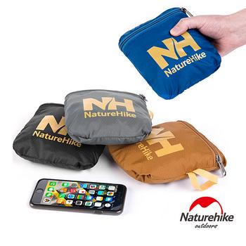 【Naturehike】戶外旅行大容量折疊防水抗刮手提肩背包 38L(灰色)