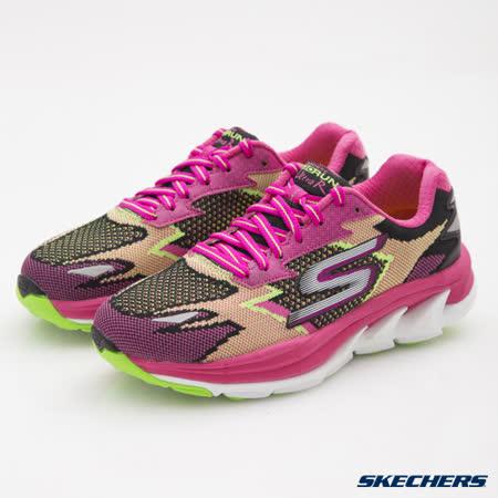 SKECHERS(女)跑步系列GO Run Ultra R-14005BKHP