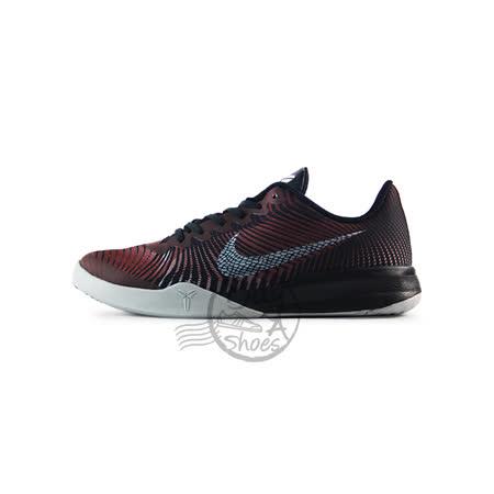 (女)NIKE耐吉 KB MENTALITY 2 GS 籃球鞋 黑/紅/灰-820322002