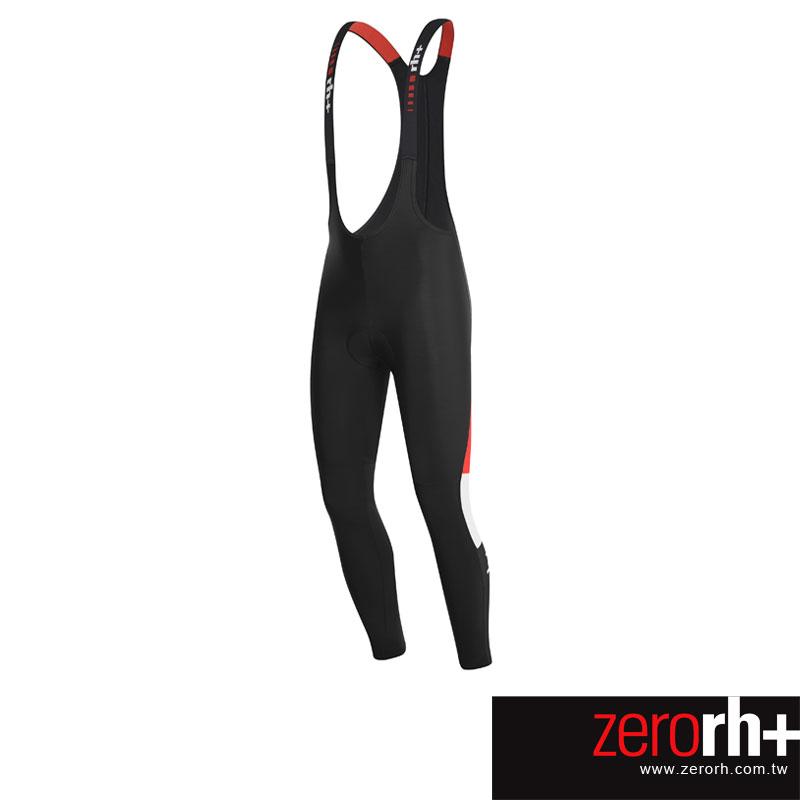 ZeroRH 義大利 Ergo Bibtght刷毛吊帶式自行車褲 ~黑紅、黑色~ ICU0