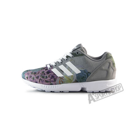 ADIDAS (女) 愛迪達 ZX FLUX W 休閒鞋 灰-AQ3067