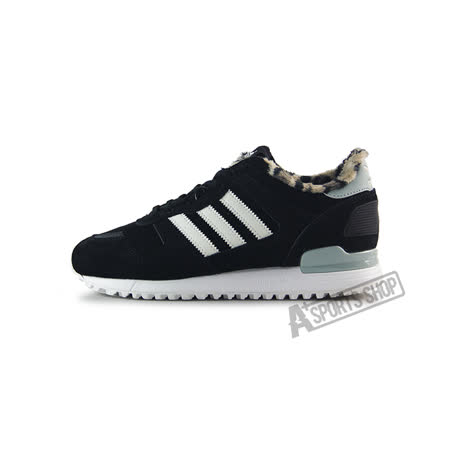 ADIDAS (女) 愛迪達 ZX 700 W 休閒鞋 黑/白-B25718