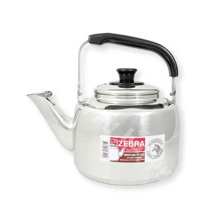 斑馬牌不銹鋼笛音茶壺開水壺3.5L