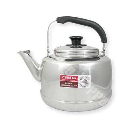 斑馬牌不銹鋼笛音茶壺開水壺7.5L