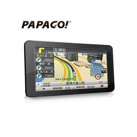 導航 行車記錄【PAPAGO】GoPad 7 Wi-Fi 7吋行車記錄聲控導航平板 加碼送16G+保護套+讀卡機+清潔組