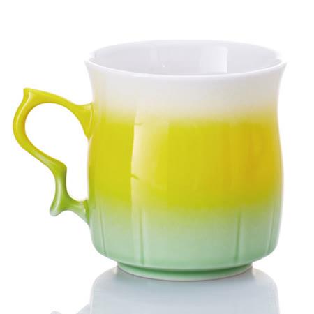 乾唐軒活瓷‧甜心杯 ( 黃綠 )