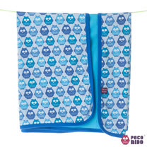 英國 POCONIDO 精梳棉柔軟嬰兒毯 (紅色小羊)