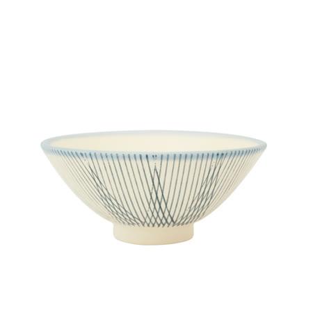 PEKOE飲食器-復古台灣碗.錐碗(竹籬)