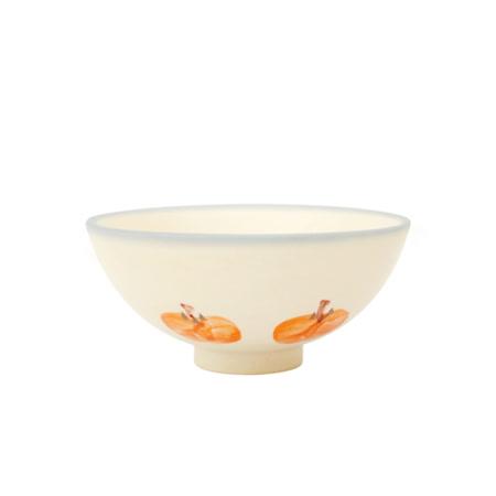 PEKOE飲食器-復古台灣碗.圓碗(紅柿)