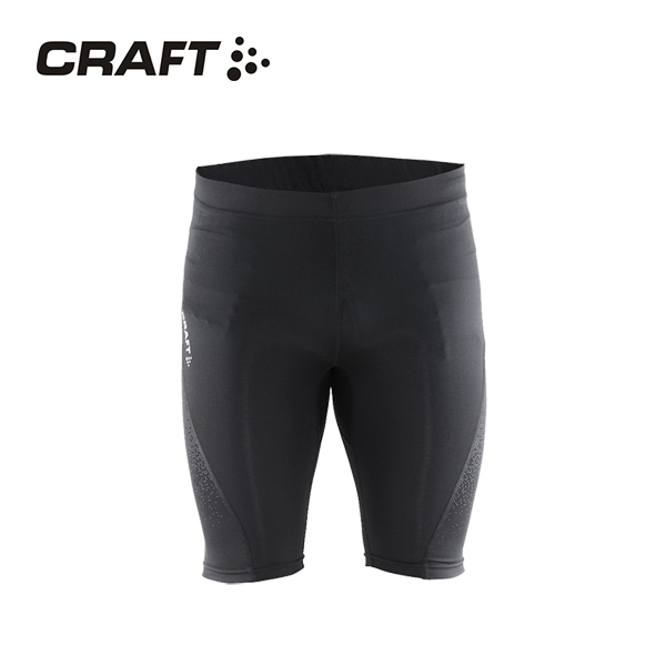 CRAFT DELTA男款 壓縮短褲 黑色