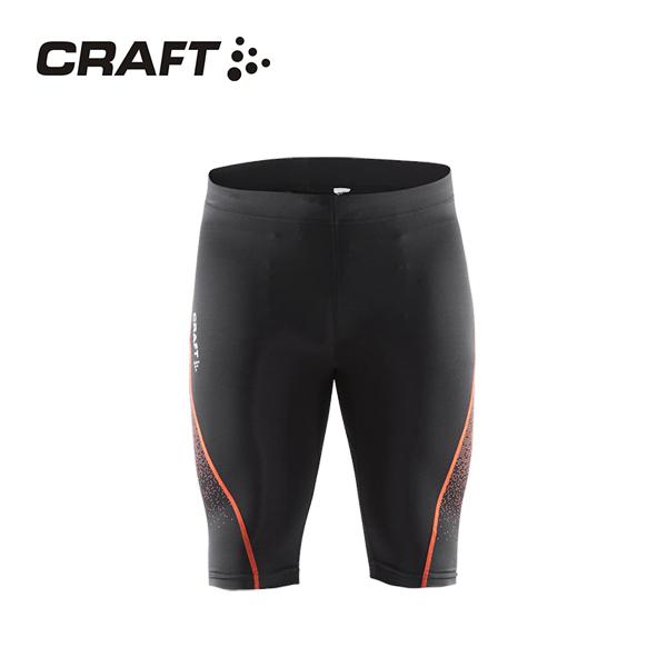 CRAFT DELTA男款 壓縮短褲 黑紅