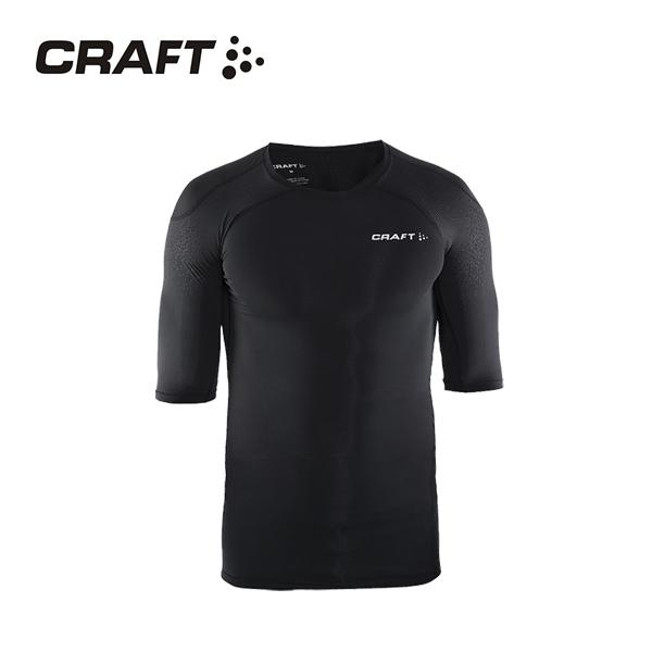 CRAFT DELTA男款 壓縮短袖上衣 黑色