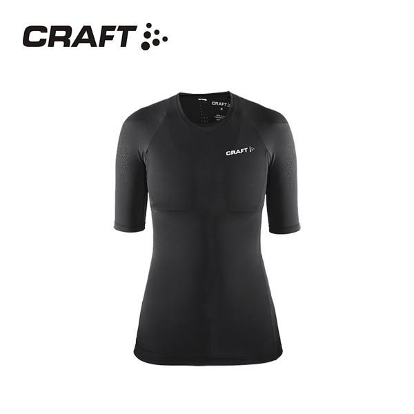 CRAFT DELTA女款 壓縮短袖上衣 黑色