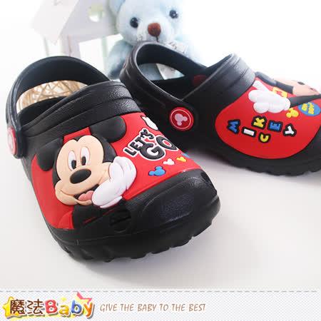 魔法Baby~迪士尼米奇正版水陸輕便鞋 sh9600