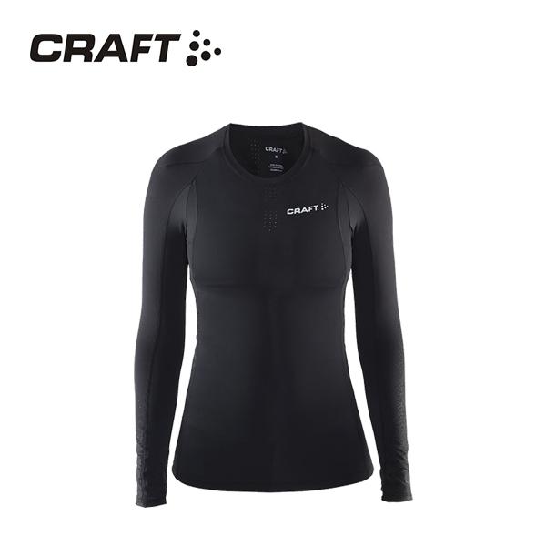CRAFT DELTA女款 壓縮長袖上衣 黑色