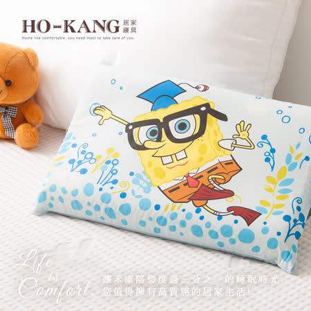 HO KANG 經典卡通 100%天然幼童乳膠枕-CA博士