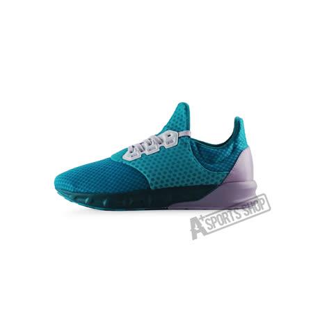 ADIDAS (女) 愛迪達 FALCON ELITE 5 W 慢跑鞋 綠/紫-AQ5099