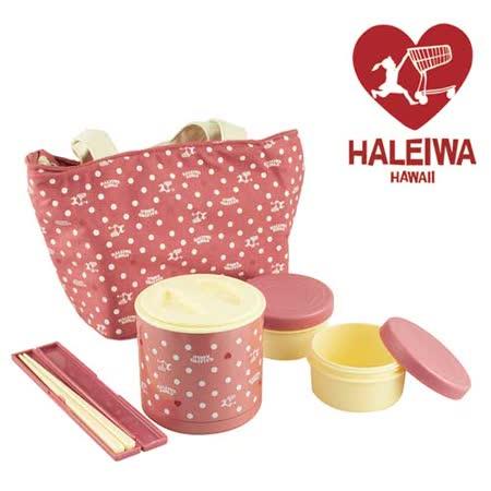 【勸敗】gohappy 線上快樂購日本【HALEIWA】點點不銹鋼戶外野餐保溫罐-(粉色)哪裡買愛 買 尿布