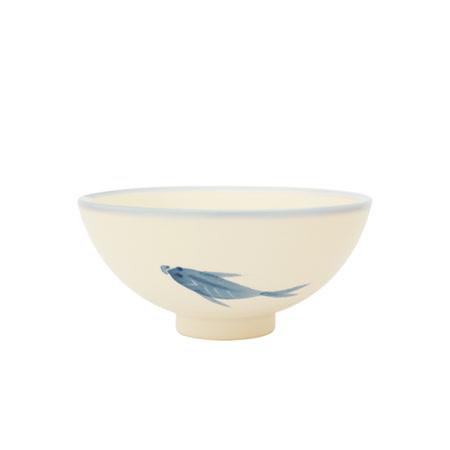 PEKOE飲食器-復古台灣碗.圓碗(鯉魚)