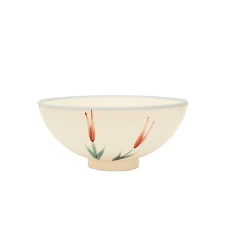 PEKOE飲食器-復古台灣碗.圓碗(金針)