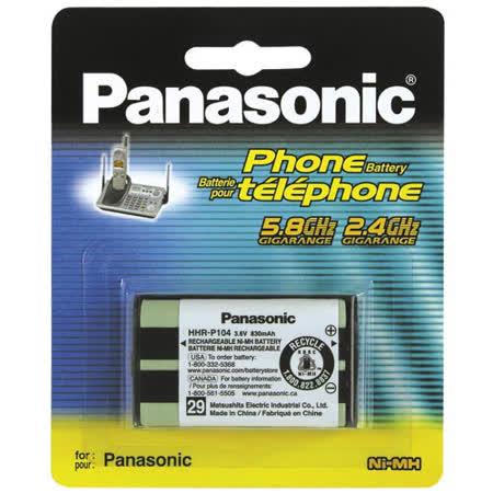 Panasonic 國際牌無線電話原廠電池 HHR-P104