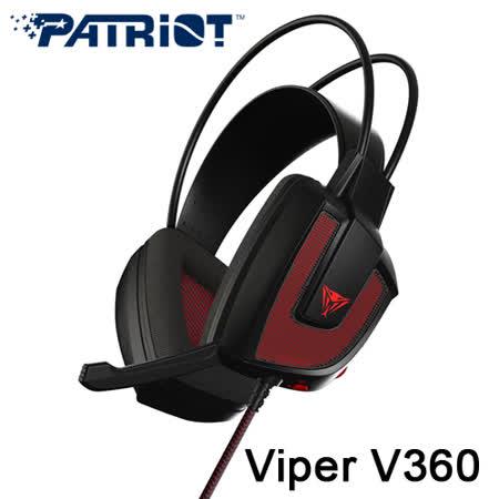 PATRIOT 美商博帝 Viper V360 7.1聲道 電競耳麥 耳機麥克風