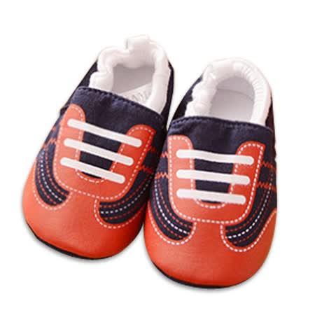 純棉軟底防滑嬰兒學步鞋【2雙入】-鞋帶+隨機一雙