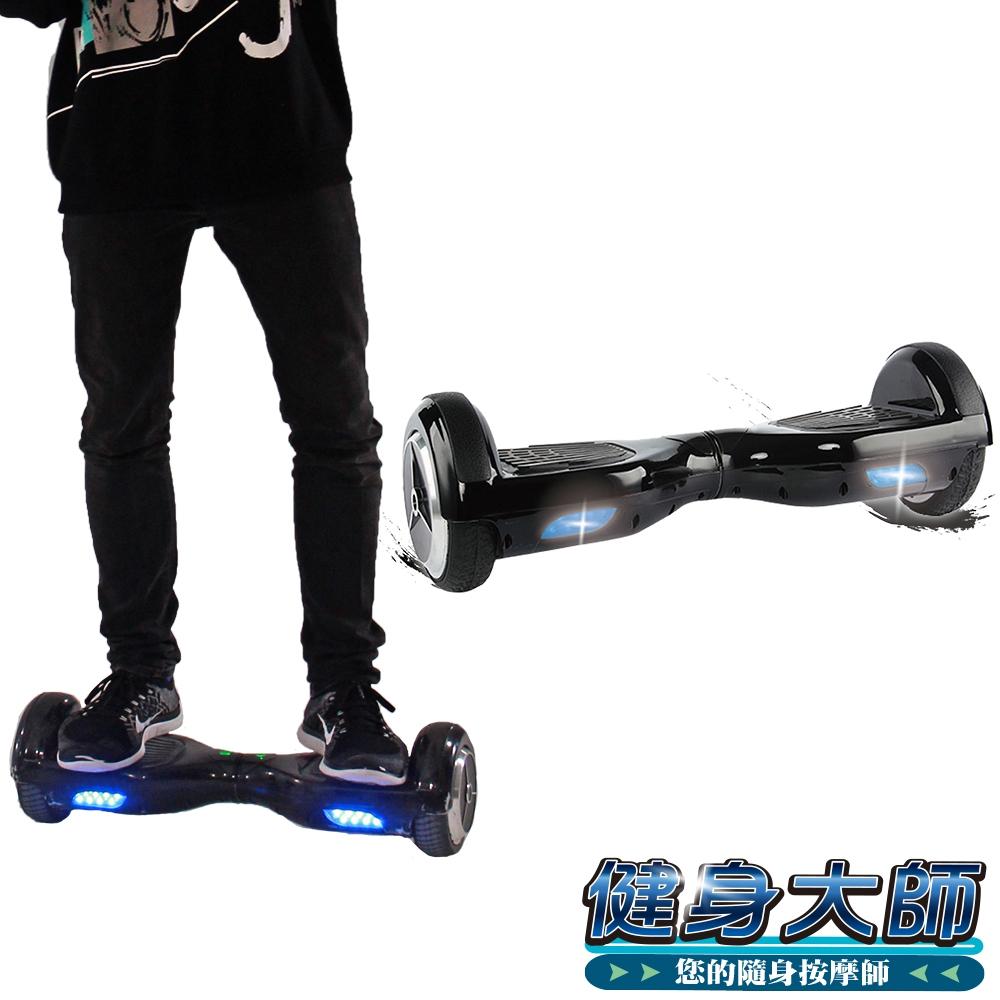 【健身大師】AI智慧電動平衡車-黑武士