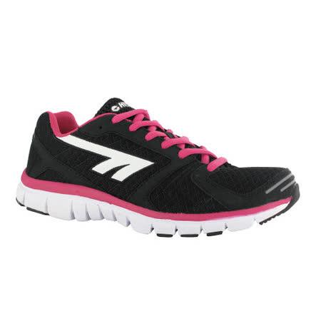 HI-TEC(女款) 英國戶外-輕量跑鞋HARAKA (百搭黑) A003049022