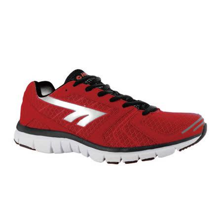 HI-TEC(男款) 英國戶外-輕量跑鞋HARAKA (人氣紅) A003040100