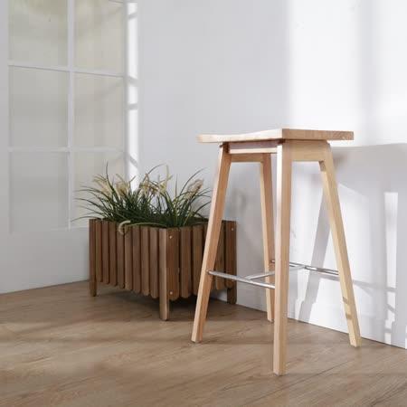 BuyJM 後現代實木吧檯椅/高腳椅
