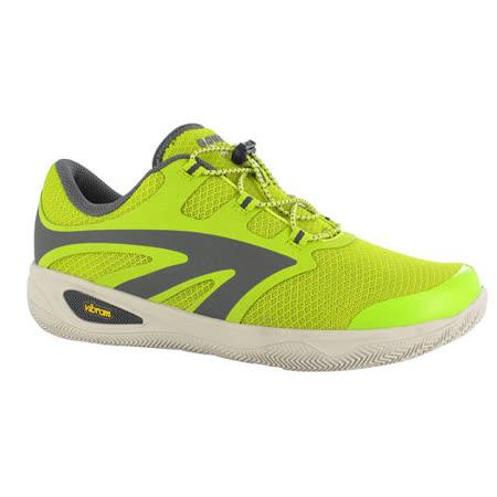 HI-TEC(男款)樂步鞋-V-LITE RIO RACE i戶外旅遊/休閒/健走(萊姆黃)O004538079