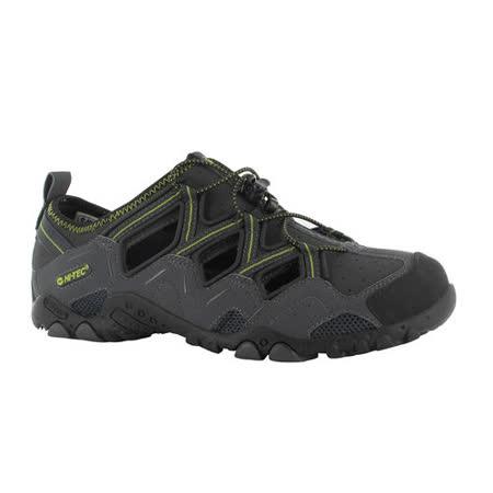 HI-TEC(男款)英國戶外護指涼鞋-BAHAMA SPORT-碳黑F000438056