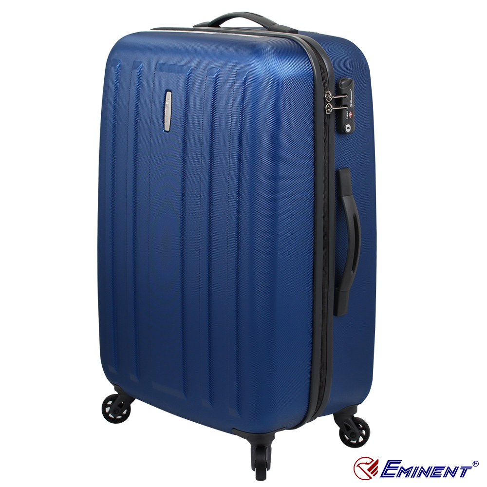 【EMINENT 雅仕】萬國行李箱 29吋 超輕量硬殼旅行箱 (KG22愛 買 麵包 藍)