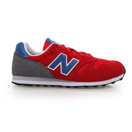 (男) NEWBALANCE 373系列 復古慢跑鞋- 路跑 NB N字鞋 紅藍灰