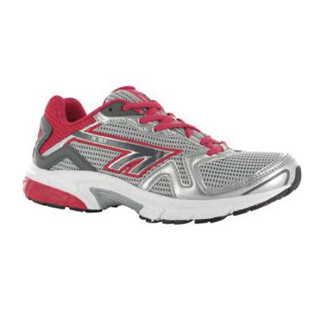 HI-TEC(女款) 英國戶外- (銀/紅)慢跑鞋R157- A002783053