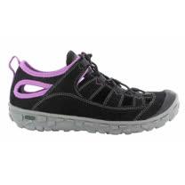 HI-TEC英國戶外(女款黑)水陸護指涼鞋/戲水溯溪,休閒旅遊O004547021