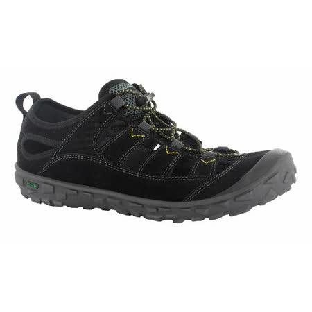 HI-TEC英國戶外(男款黑)水陸護指涼鞋/戲水溯溪,休閒旅遊O004503021