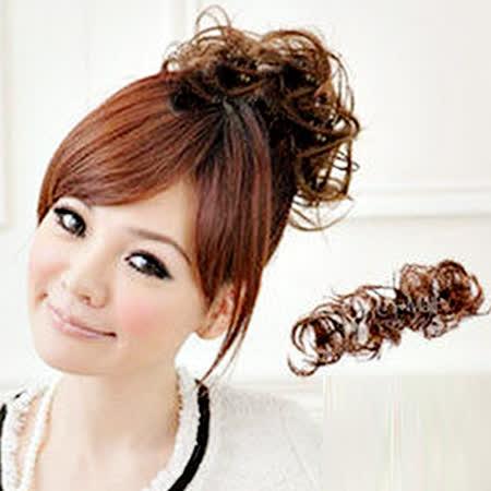 【PS Mall】造型師新秘必備 髮量增多扣式造型長捲髮條假髮 (P008)