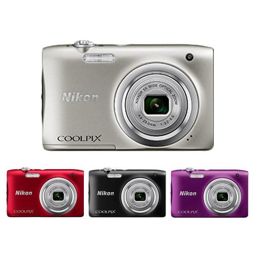 Nikon COOLPIX A100(公司貨)-送32G卡+原廠電池+專用座充+原廠相機袋+小腳架+讀卡機+清潔組+庇護貼+自拍桿