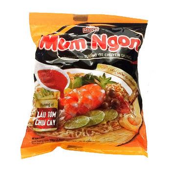 MUM NGON酸辣蝦麵70g