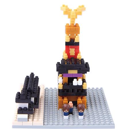 【真心勸敗】gohappy 購物網《Nano Block 迷你積木》NBC-107祭典花車(江戶型)推薦遠東 威 秀